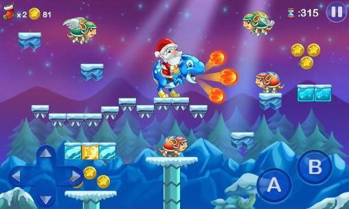 Juegos de arcade Mega Santa para teléfono inteligente