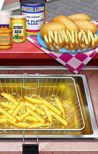 Street food stand cooking game para Android