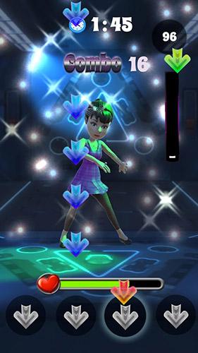 Dance tap revolution Screenshot