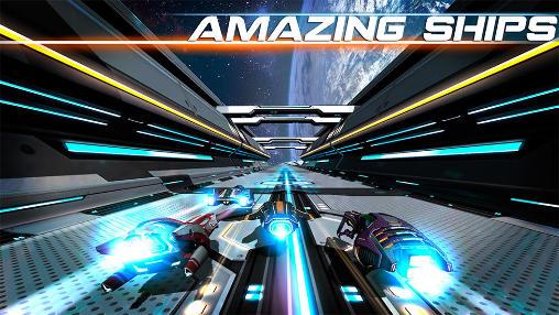 Rennspiele Cosmic challenge für das Smartphone
