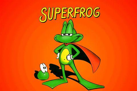 logo La super grenouille