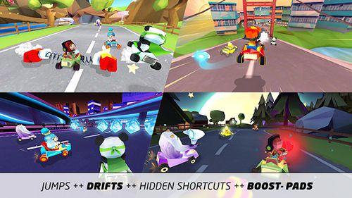 Screenshot Kart König 3D: Lustiges Rennen auf dem iPhone