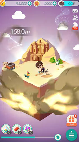 Dig land for Android