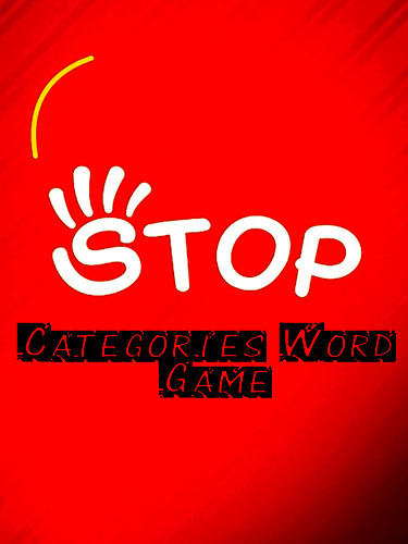 Stop: Categories word game capture d'écran 1