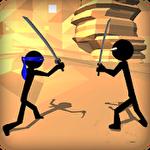 Stickman ninja warrior 3D Symbol