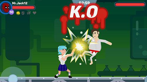 Ragdoll warriors: Crazy fighting game für Android