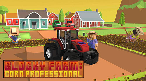 Blocky farm: Corn professional Screenshot
