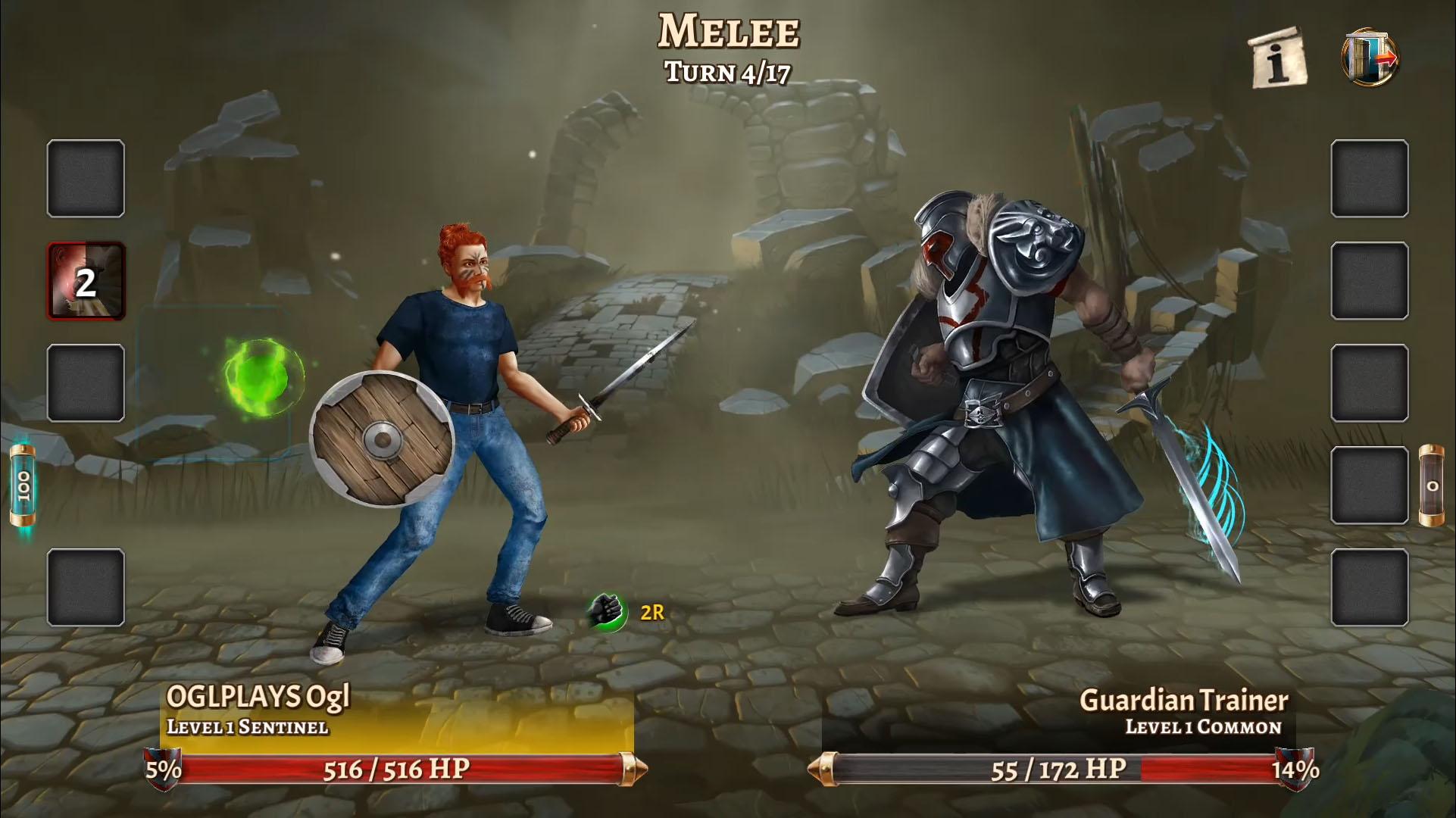 Eterna: Heroes Fall - Deep RPG screenshot 1