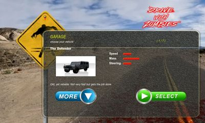Drive with Zombies for Android