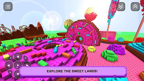 Pixelspiele Sugar girls craft: Adventure auf Deutsch