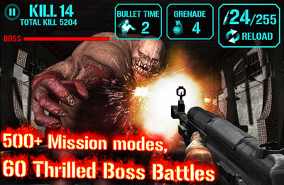 Simulation games: download Gun Zombie : Hell Gate to your phone