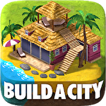 Tropic town: Island city bay icono
