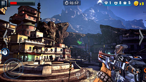 Commando fire go: Armed FPS sniper shooting game für Android