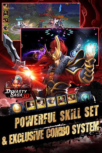 Online-Strategiespiele Dynasty saga 3D: Three kingdoms auf Deutsch