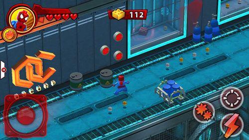 Jogos de ação: faça o download de Lego Os super heróis Marvel: Universo em perigo para o seu telefone