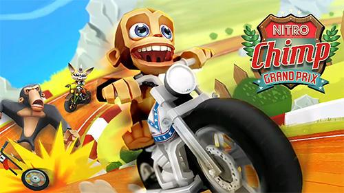 Скриншот Nitro chimp grand prix на андроид