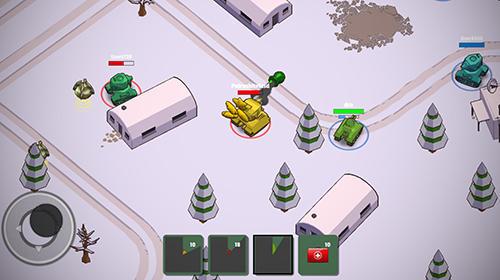 Shooter Crash of tanks online auf Deutsch