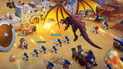 Online Strategiespiele Epic war: Castle alliance auf Deutsch