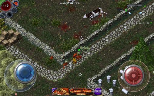 Actionspiele Alien shooter: Lost city für das Smartphone