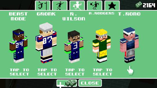 Arcade Crossy football zombies for smartphone