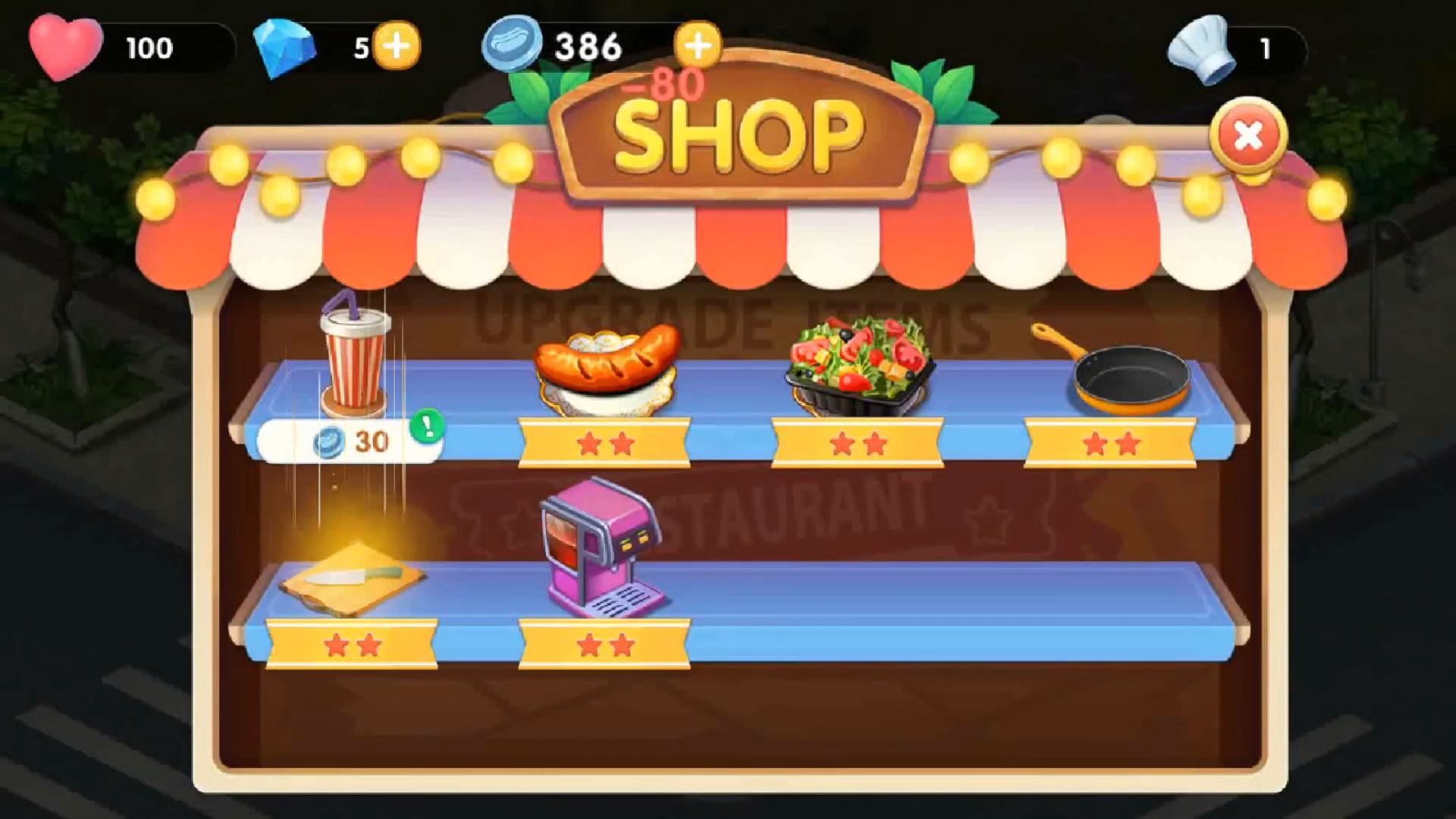 My Restaurant Empire - 3D Decorating Cooking Game скріншот 1