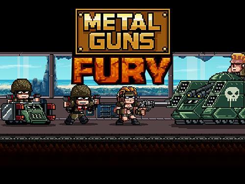 Metal guns fury: Beat em up Screenshot