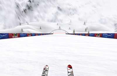 Screenshot Skifahren 3D auf dem iPhone
