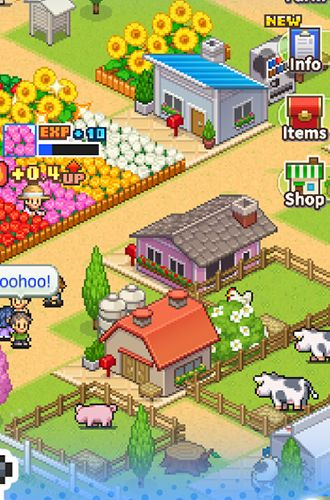 8-bit farm for iPhone for free