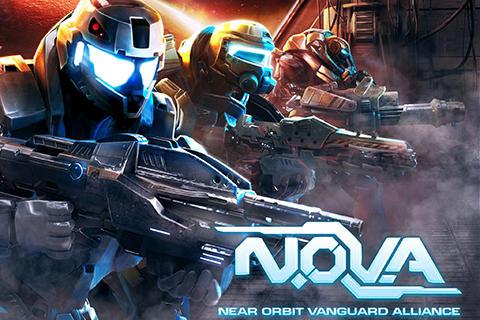 N.O.V.A. Near orbit vanguard alliance icône