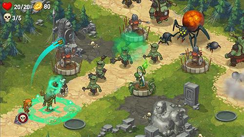 Orcs warriors: Offline tower defense Screenshot