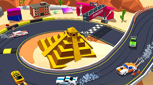 Skid car rally racer pour Android