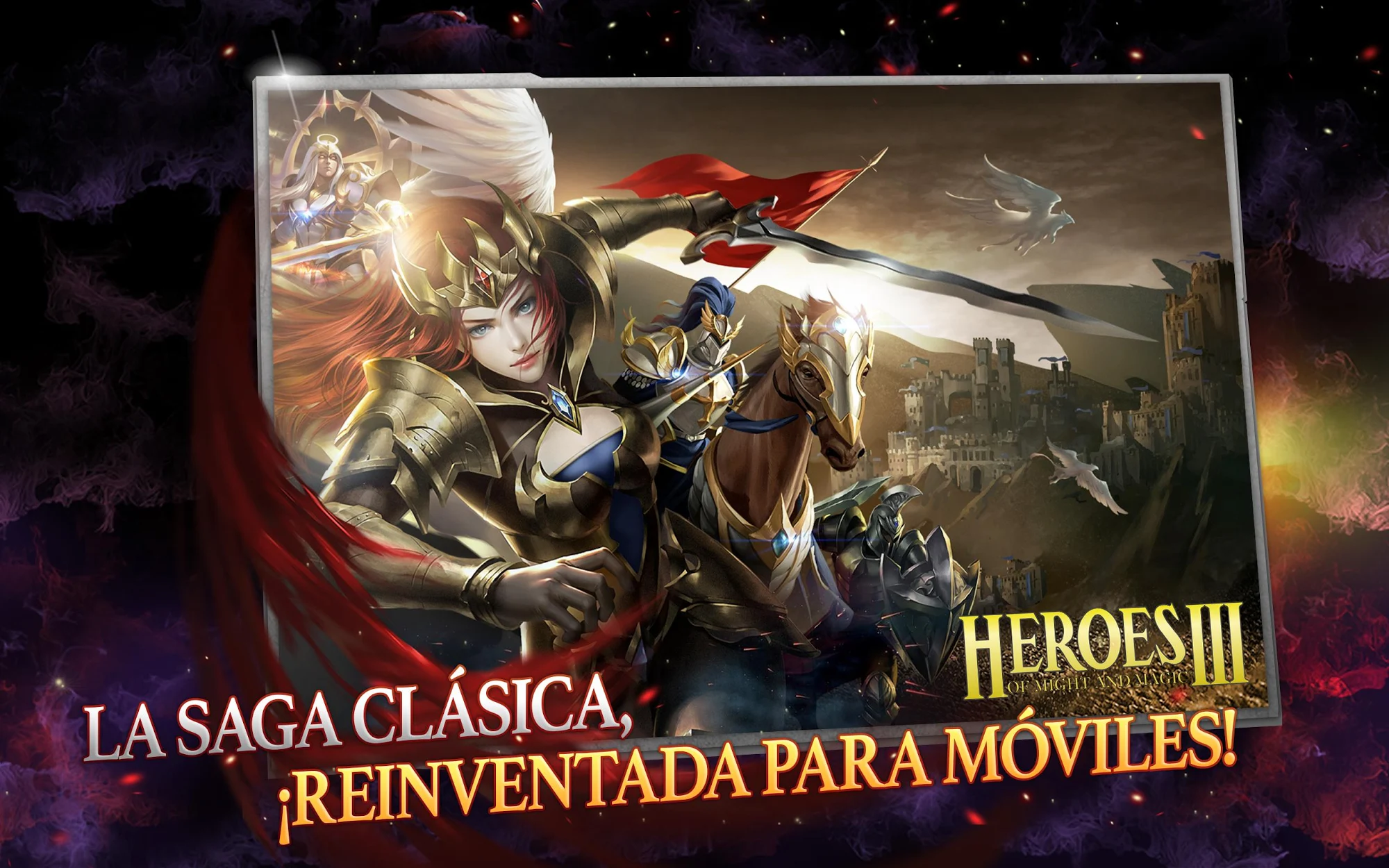 Might & Magic Heroes: Era of Chaos captura de pantalla 1