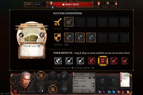 Screenshot Der Hexer: Adventure Game auf dem iPhone