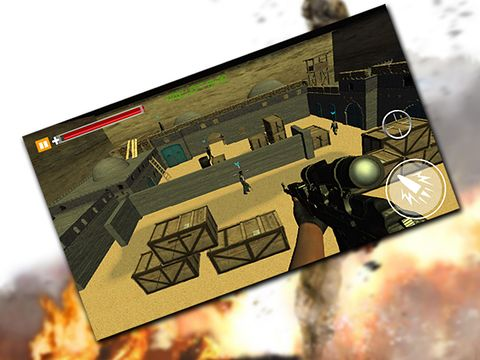 Simulation games: download Sniper killer: Revenge in crime city to your phone