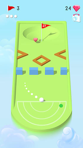 Pocket mini golf screenshots