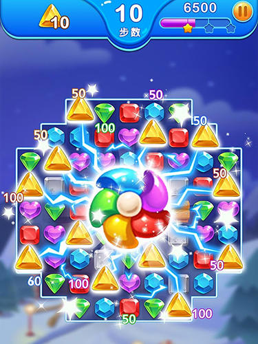 Jewel blast dragon: Match 3 puzzle in English