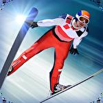 Super ski jump icon
