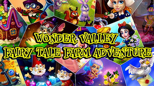Wonder valley: Fairy tale farm adventure captura de pantalla 1