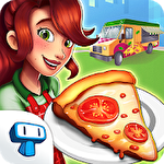 Pizza truck California: Fast food cooking game icône