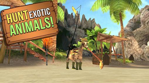 Goat simulator: MMO simulator screenshot 1