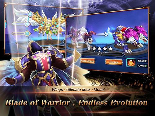 Strategie RPG Knights saga auf Deutsch