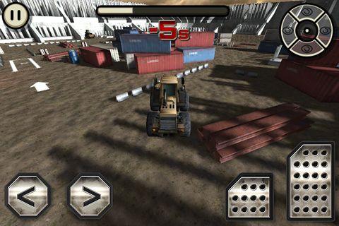 Screenshot Baustellen Truck: Simulator auf dem iPhone