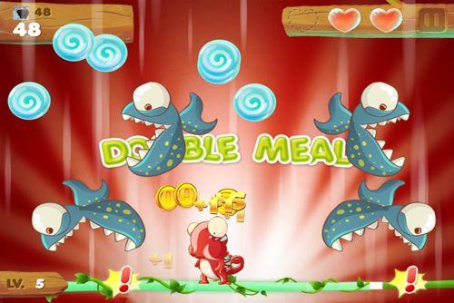 Скриншот Хамелеон сладкоежка на Айфон
