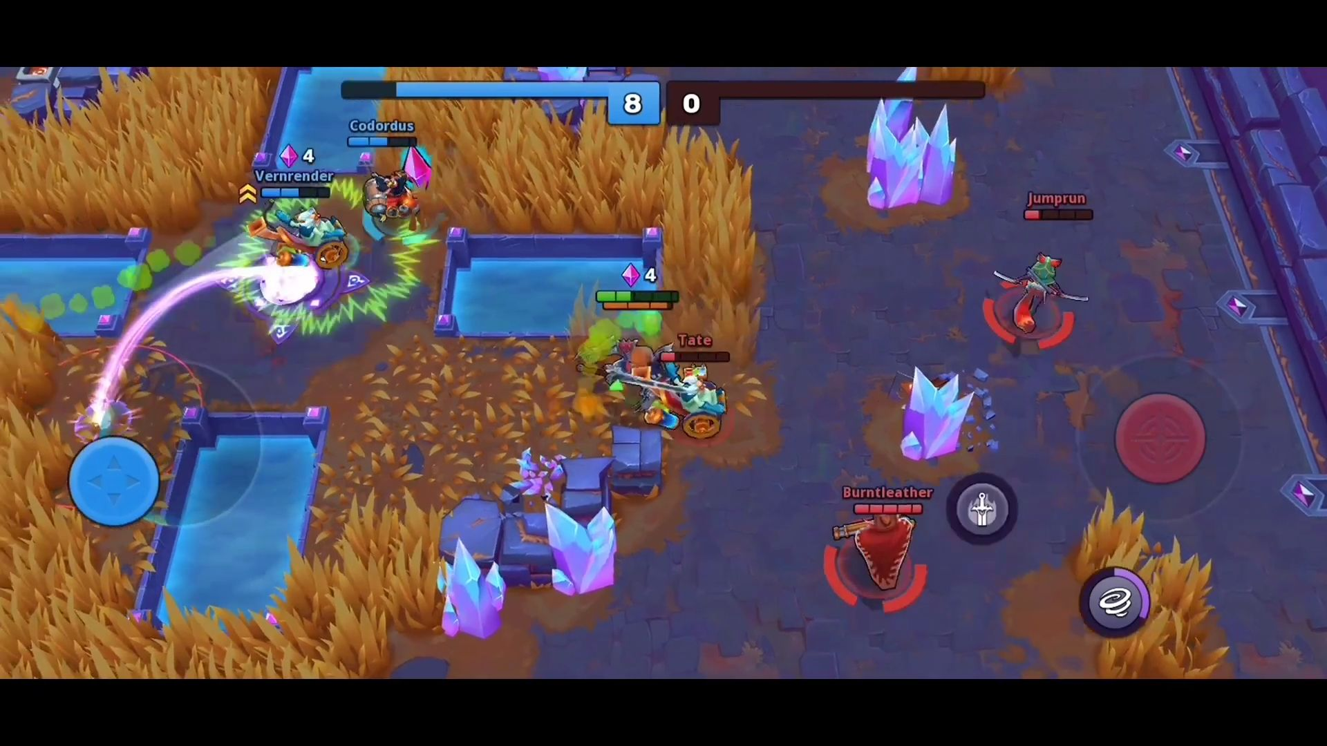 Frayhem - 3v3 Brawl, Battle Royale, MOBA Arena captura de tela 1