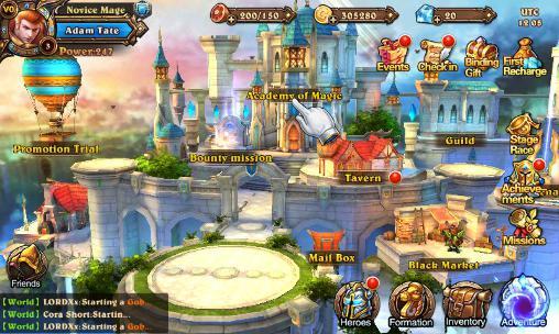 Online RPGs Magic legion: Mists of orcs auf Deutsch