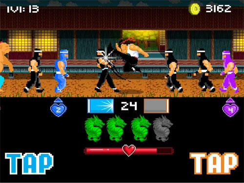 Combat Kung fu fight: Beat em up pour smartphone