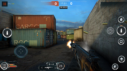 Alone wars: Multiplayer FPS battle royale für Android