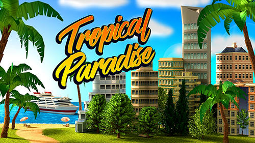 Tropical paradise: Town island. City building sim capture d'écran 1