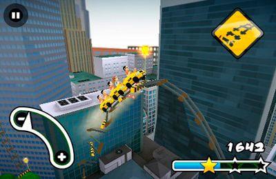 マルチプレイヤーゲーム: 電話に ニューヨークの3D ローラーコースターラッシュをダウンロード