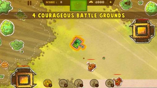 Screenshot Doodle Panzerschlacht auf dem iPhone